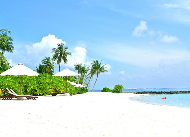 Maldives resort main beach Vacation Packages
