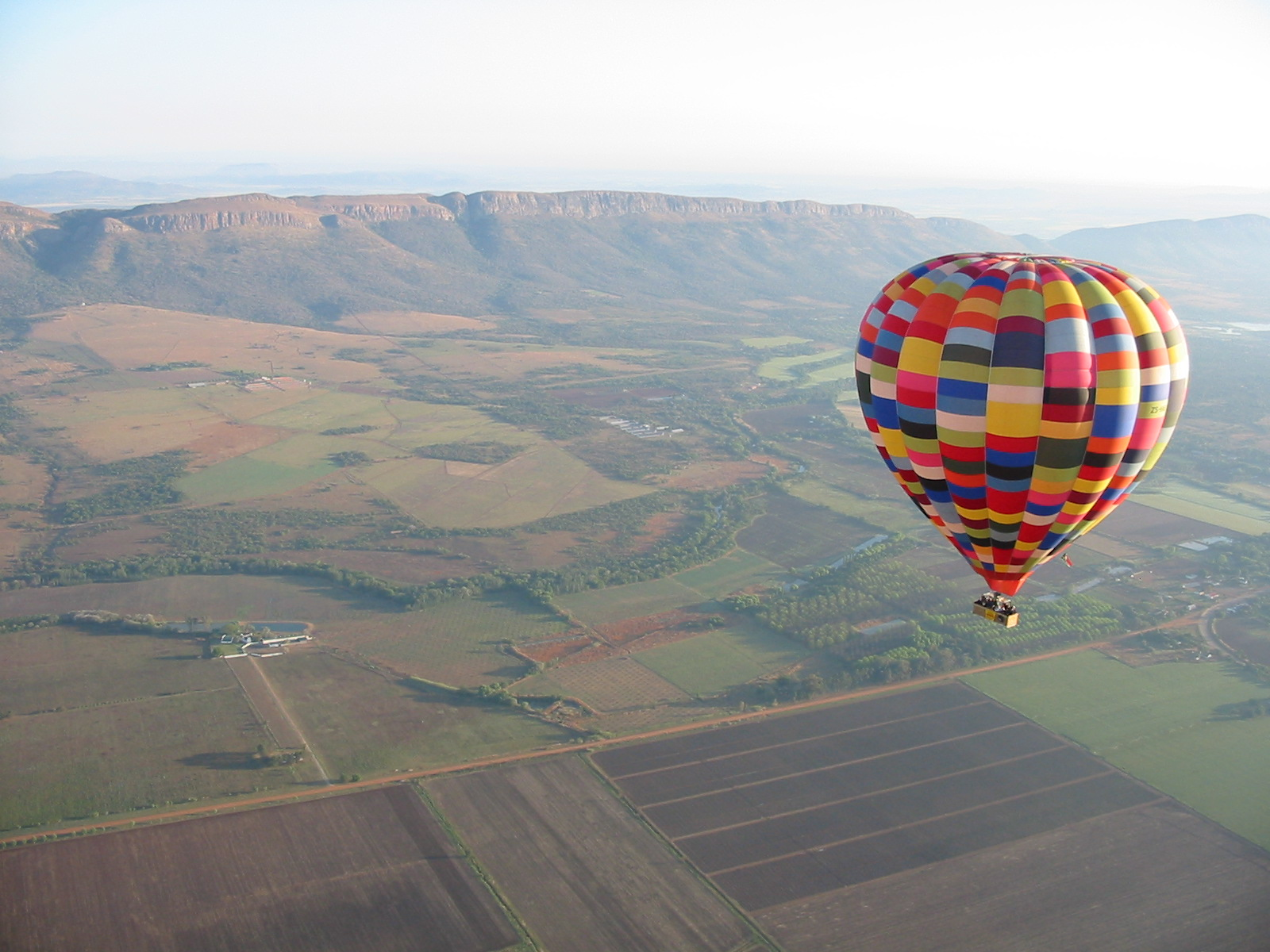 Hot air balloon rides Safari