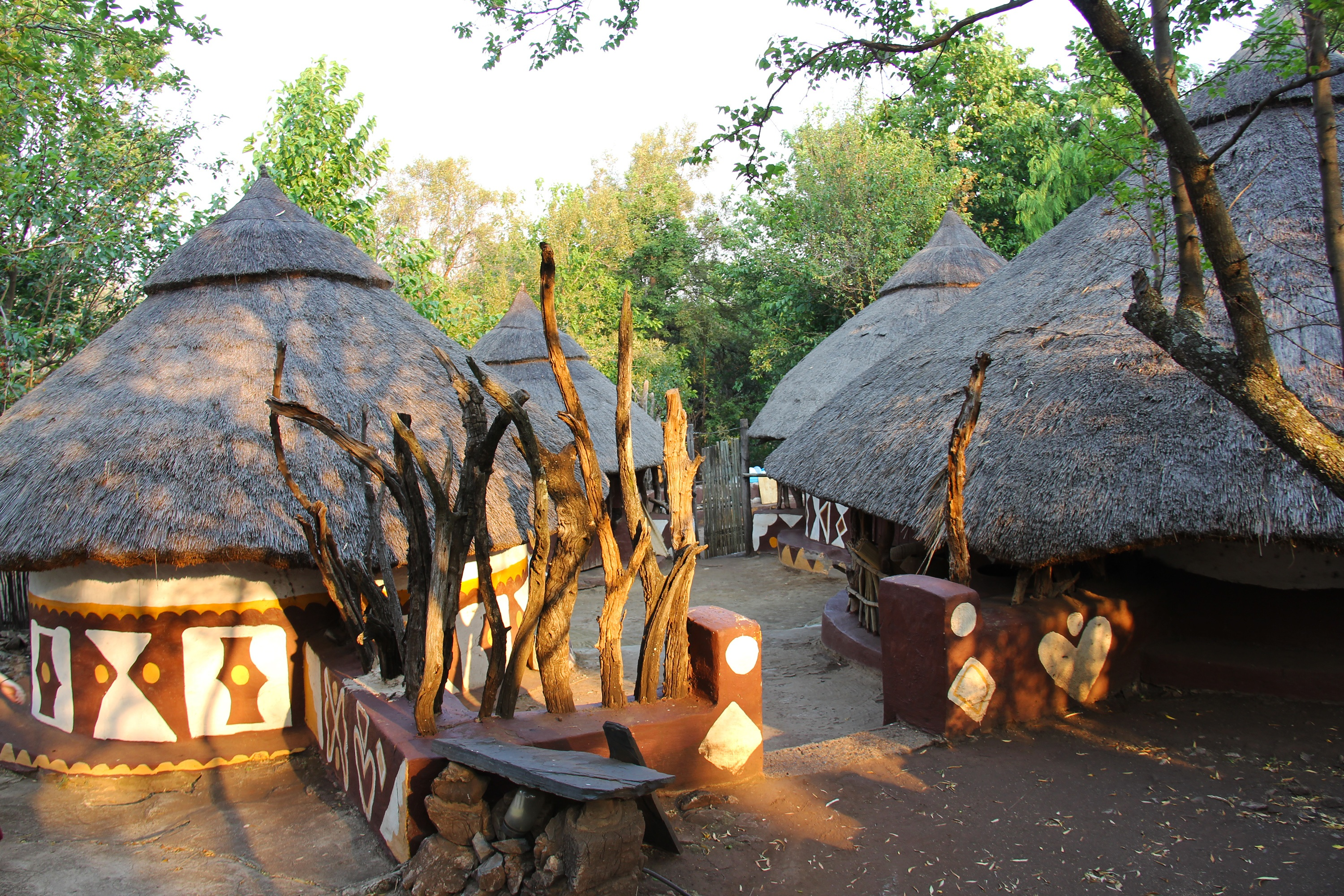 African Safari hut