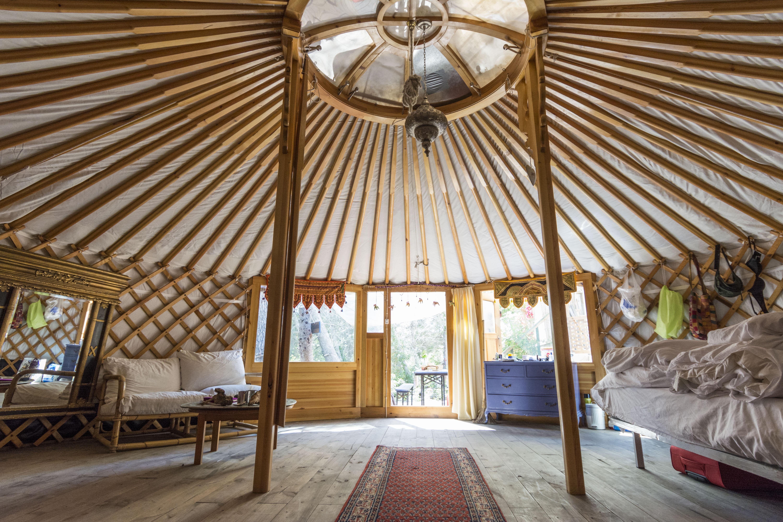 Yurt holiday accommodation