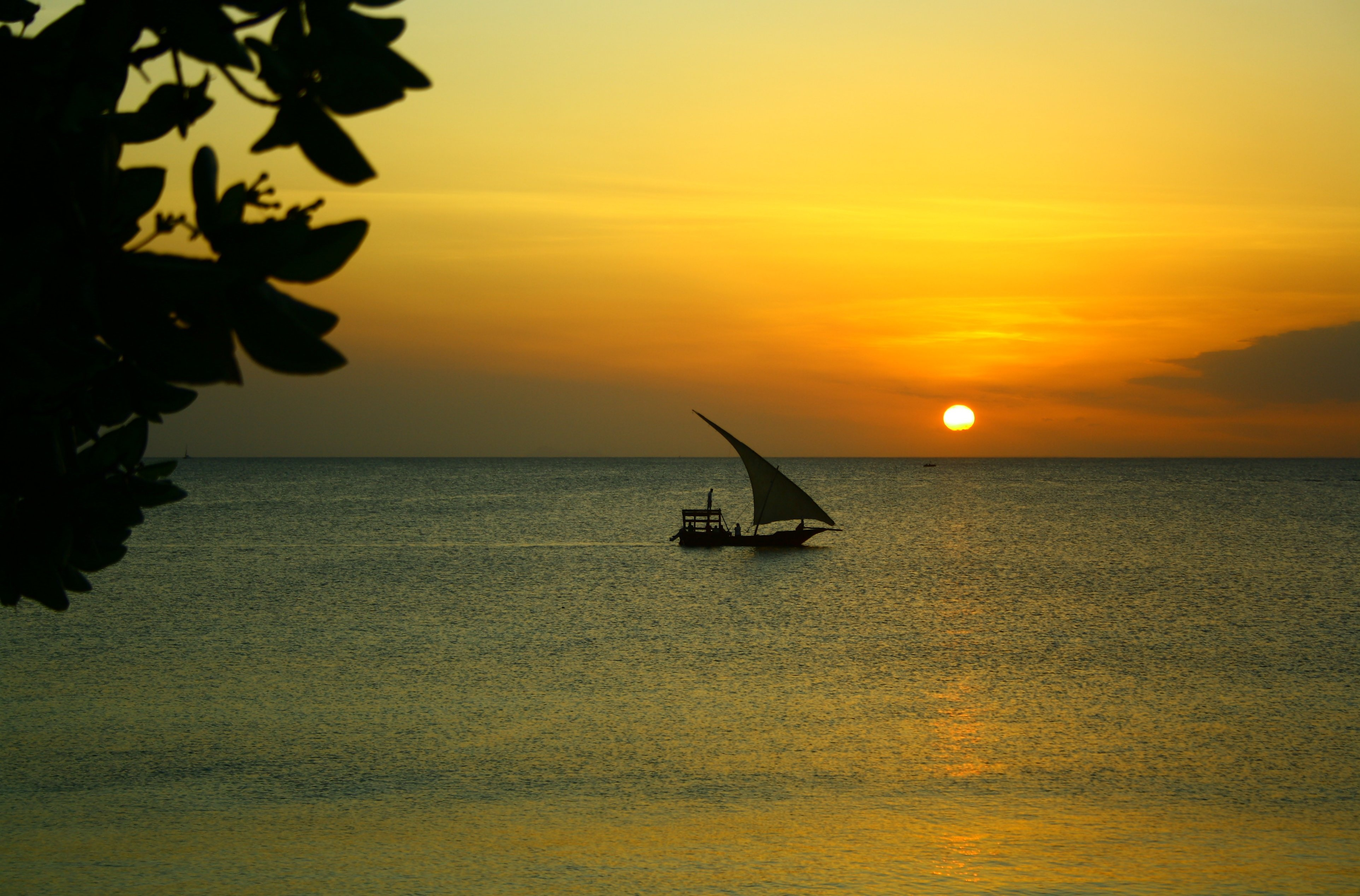 Zanzibar ocean sunset holidays